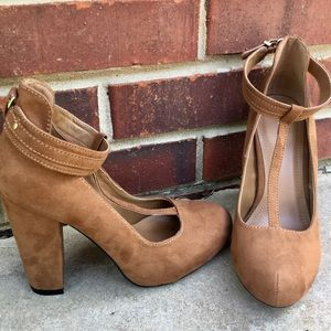 Attention | Carmel Brown Pumps